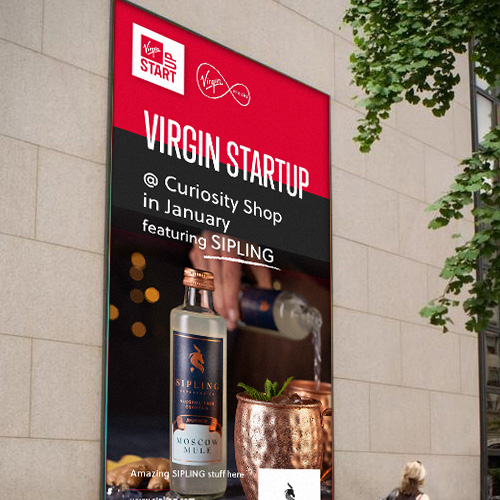 Virgin StatUp Poster